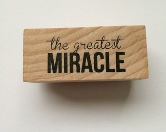 The Greatest Miracle Stamp