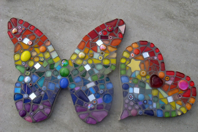 Butterfly lawn ornaments -  Zoom