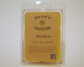 Aloha. 100% Soy Wax Tarts