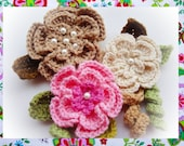 Creative uses Flowers Crochet Pattern