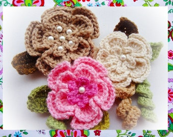 Creative uses Flowers Crochet Pattern