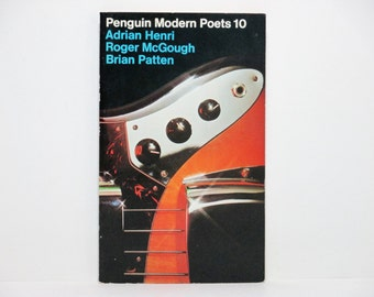 Penguin Modern Poets 10: THE MERCY SOUND Adrian Henri, Roger McGough, Brian Patten 1974 Book Of British Poetry