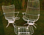 For Tammy    Vintage Homecrest Chairs : Wire / Swivel / Papa & Mama / Rockers / Three Pieces/ Restored