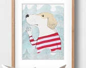 DON'T WORRY - Art print by Atelier Gilet