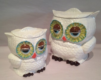 Hoot Owl Tea bag canister