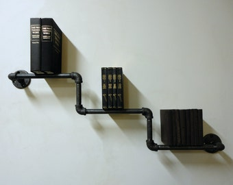"Industrial Pipe Bookshelf the ""Amigo"""