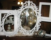 Shabby Chic PICTURE FRAMES - White Picture Frames - Vintage Picture Frames - Picture Frames