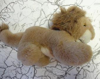 Vintage Stuffed Lion