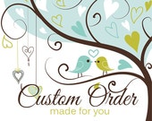 Custom order for 2 liners - 1 with ruffle add on