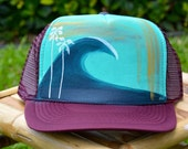 Original Hand Painted Trucker Hat
