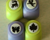 A Set of a Paper Punch (Pick 1)- Reindeer, Angel, Butterfly, or Maple