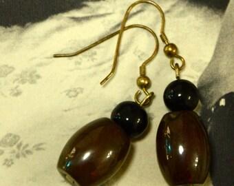 A Set of Beaded Earrings