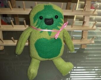 Green Yeti Plush