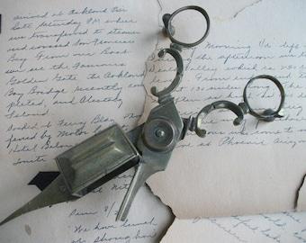 Antique Brass Candle Snuffer Scissors