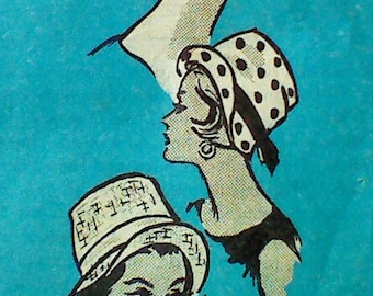Vintage Women's Hat Sewing Pattern