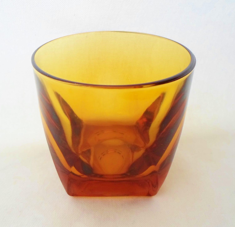 rocks glass glassware barware mad men mid century modern