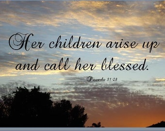 Bible Verse From Proverbs for Mother's Day