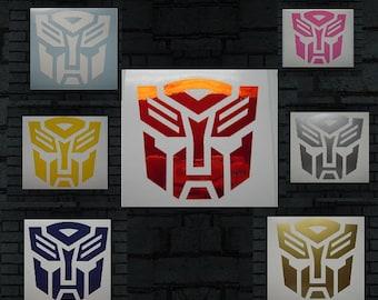 Custom 0.75 cents per Inch Transformers Autobots logo decal
