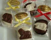 12 Chocolate Animal Crackers Oreo Cookie Birthday Party Favors Dessert Candy Bar Lion Bear Elephant Monkey