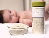 Colloidal Oatmeal Bath for sensitive baby skin, eczema or rashes.