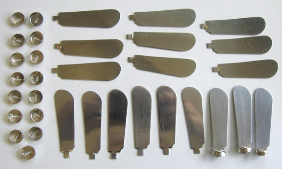 18 canape or spreader blades knives ready for handles for Canape knife