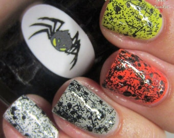 Halloween Spider Nail Polish