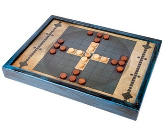 Tablut.  Celtic Strategy Board Game