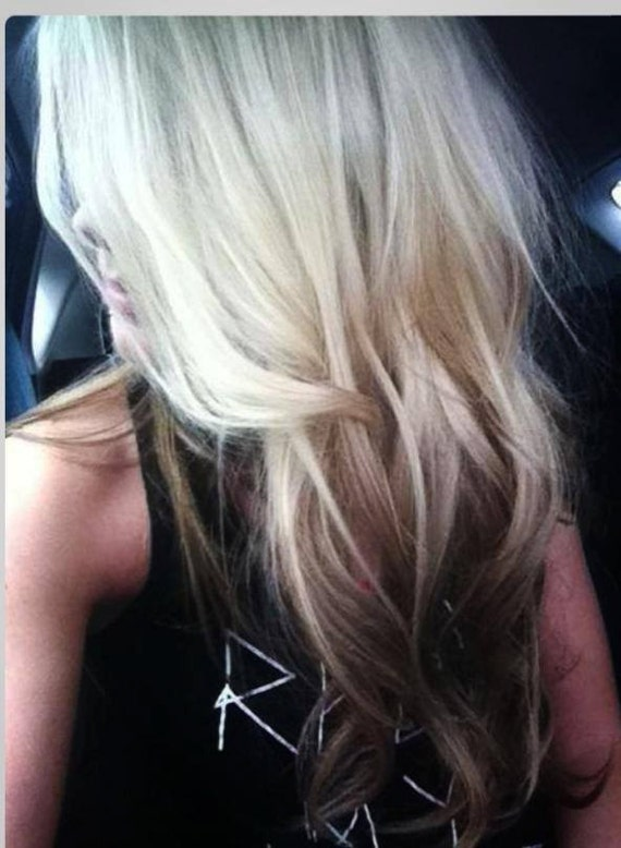 Dying Blonde Extensions Darker 38