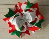 Classic Christmas Bow- Ready to Ship!