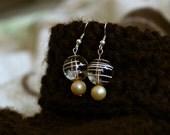 Buttery Swirled Earrings