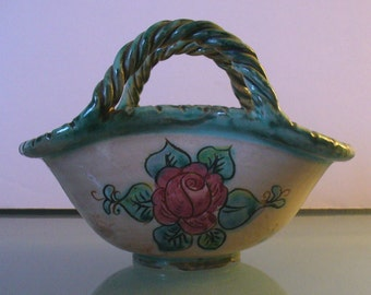 Made in Italy Ceramic Candy Dish