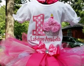 Cupcake Birthday onsie or shirt