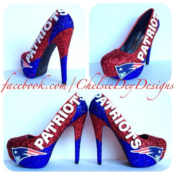 Patriots Football High Heel Shoes