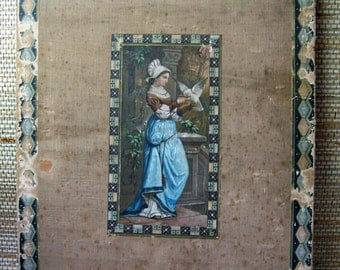 Vintage Wooden Scrapbook Cover with Gorgeous Imagery