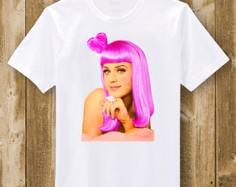 Katy Perry Pink Hair - T-Shirt or Bodysuit