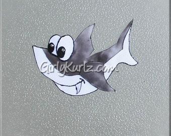 Shark Hair Clip Shark Hair Bow