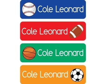 Waterproof Daycare Labels - Great for daycare, preschool, and school