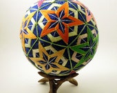 Japanese Temari Ball - Star Design
