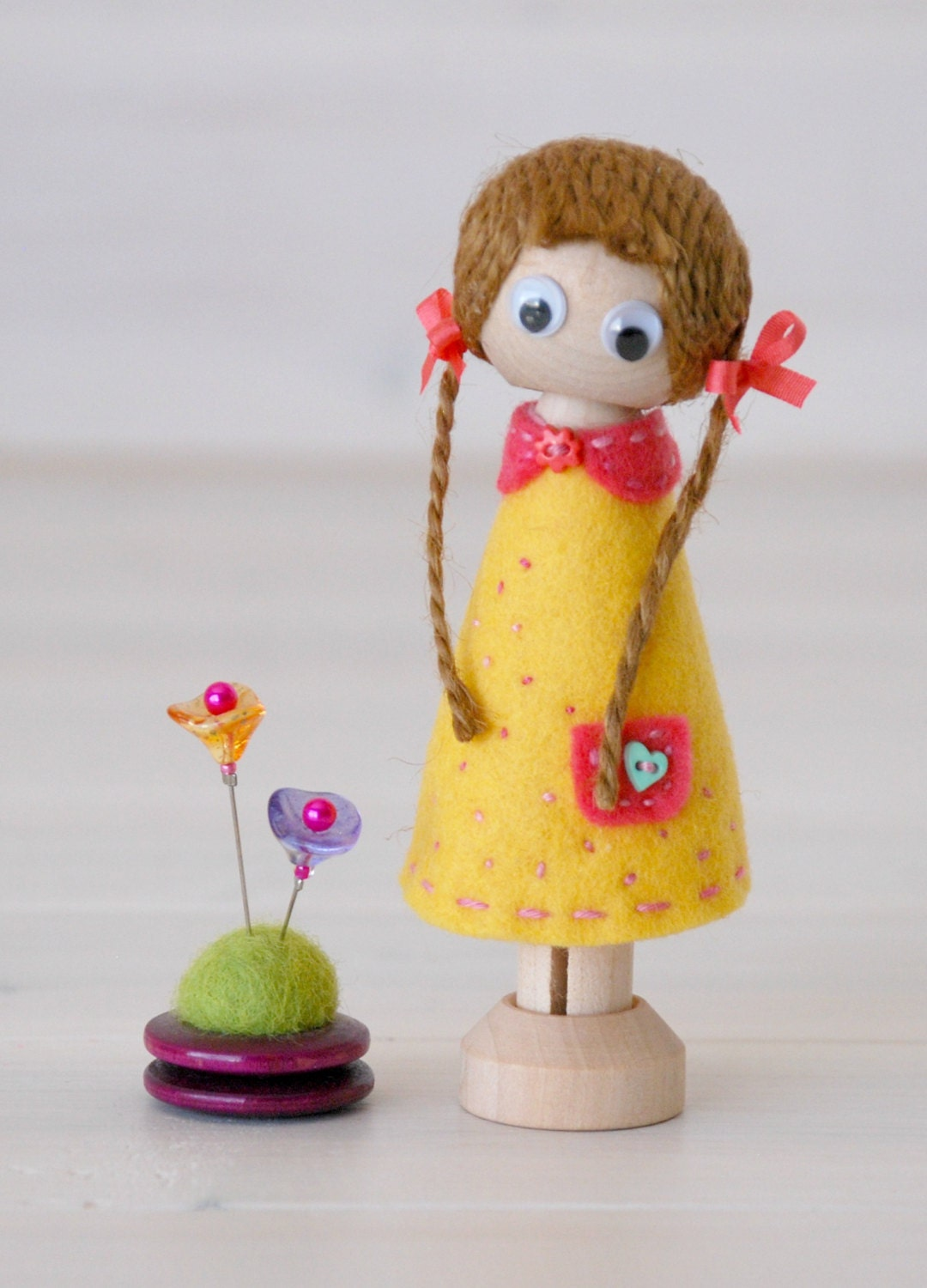 DIY Clothespin Doll - 30 Wooden Dolls - Wooden Clothespins ...