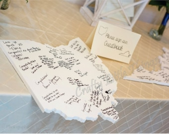 Wedding Guestbook state shape for wedding guestbooks