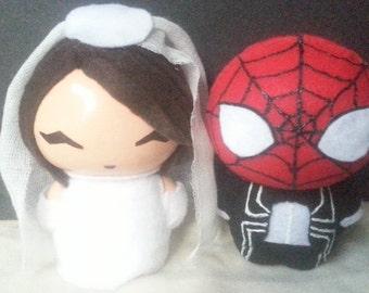 Spidey And Bride