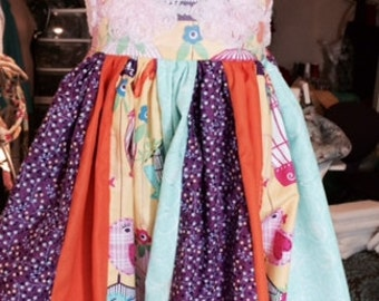 Party Dress for girls, Tea Party Dress, Summer Dress