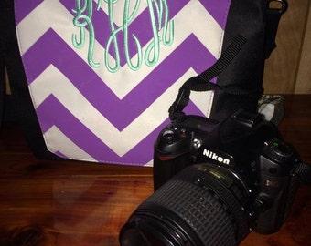 Chevron Camera Bag