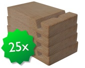 25 pack original friendly wooden ipad stands