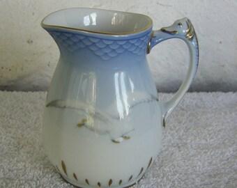 Bing & Grondahl Porcelain Seagull Cream Pitcher 189