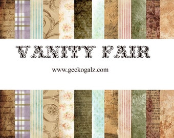 Vanity Fair Digital Paper Pack