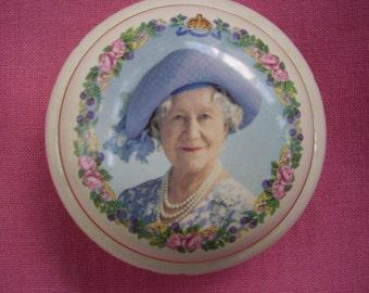 English Queen Mother Commemorative Box