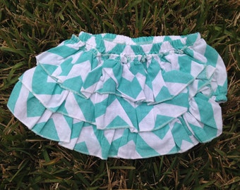 Chevron Ruffle bloomer
