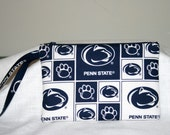 Penn State Nittany Lions Wristlet iPod Bag, Digital Camera Bag, Cell Phone Bag, Smart Phone Bag, Small Tech Bag