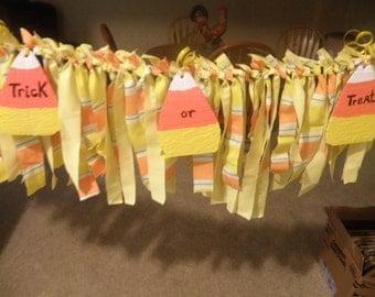 Rag Streamer Banner Cloth Garland Photo Prop